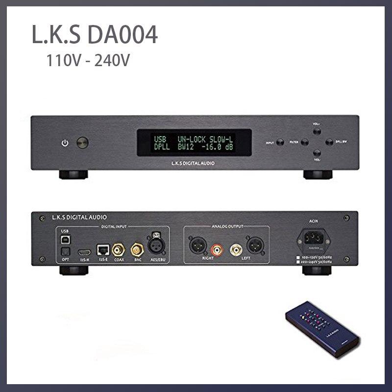 Sapatilha de áudio óptico infantil, decodificador de áudio óptico usb duplo es9038pro flagship dac dsd i2s MH-DA004 v a 110v