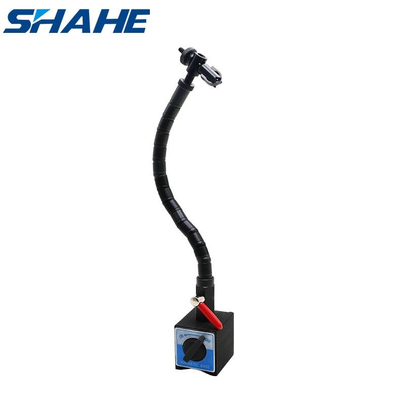 Shahe قاعدة مغناطيسية حامل مرن حامل اعوج حامل مغناطيسي للمؤشرات
