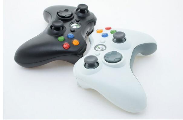 وحدة تحكم لاسلكية 2.4 جيجا لجهاز Xbox 360 ، وحدة تحكم لجهاز Microsoft ، Windows 7 ، 8 ، 10 ، Xbox360
