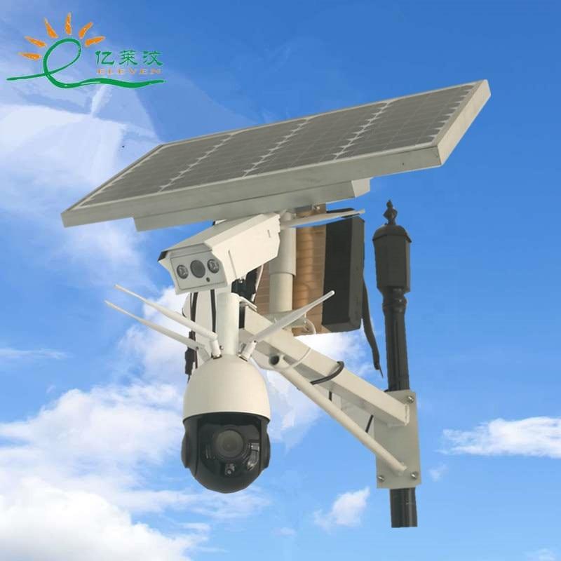 في الهواء الطلق بطارية تعمل بالطاقة الشمسية ip كاميرا الأمن اللاسلكية 12 فولت