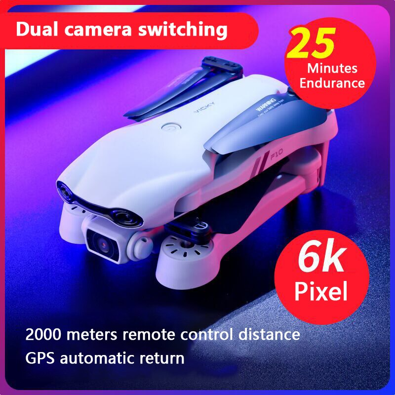 Folding Drone 6K Aerial Photography Dual Intelligent Positioning Return Home Quadcopter Professional Cross-border Remote Control