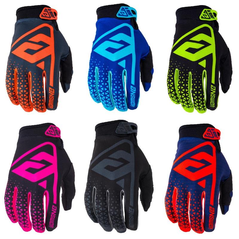 AR-1 перчатки для мотокросса, перчатки для мотогонок с полным пальцем, перчатки для езды на мотоцикле, 2019