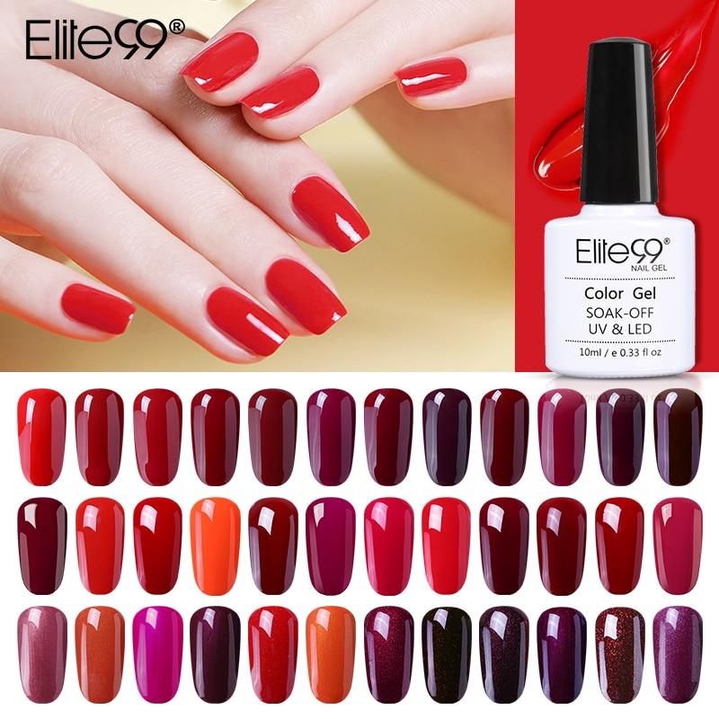 Elite99-esmalte de Gel semipermanente para uñas, laca de Gel para manicura semipermanente,...