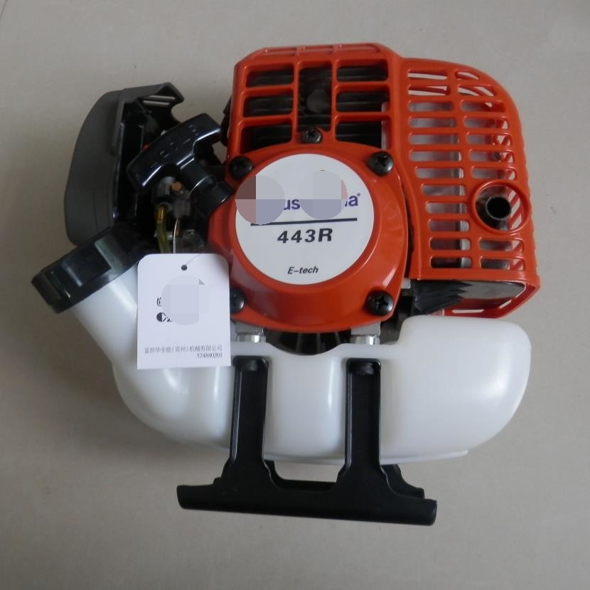 443R GASOLINE ENGINE FOR POWERED BY 43CC  2 CYCLE MOTOR PETROL BRUSHCUTTER TRIMMER SPRAYER WIPPER