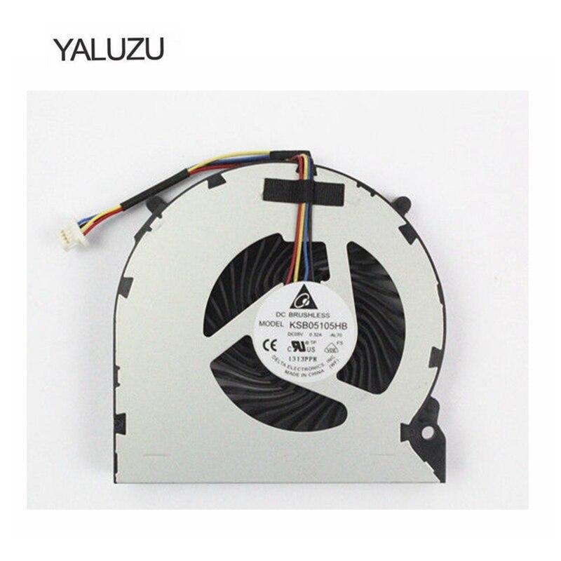 YALUZU Nouveau Ventilateur Cpu Pour Sony SVE17 SVE171 SVE1711X1EB Cpu Ventilateur De Refroidissement SVE171A11M SVE171B11M SVE171C11M