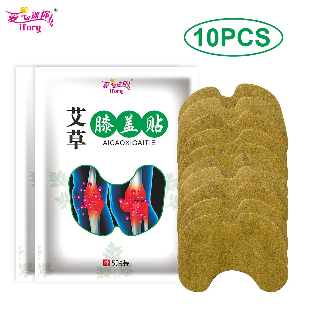 aliexpress.com - Ifory 10Pcs/2Bag Wormwood Medical Plaster Relief knee Pain Joint Ache Rheumatoid Arthritis 100% Natural Herbal Body Patch