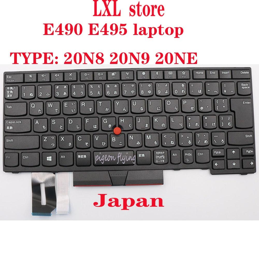 SN20P33060 لباد E490 E495 محمول لوحة المفاتيح 20N8 20N9 20NE اليابان FRU 01YP510 01YP430 01YP350 01YP270 CM89 100% اختبار موافق