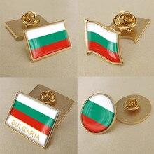 Bulgarie bulgares drapeau broche insignes épinglettes