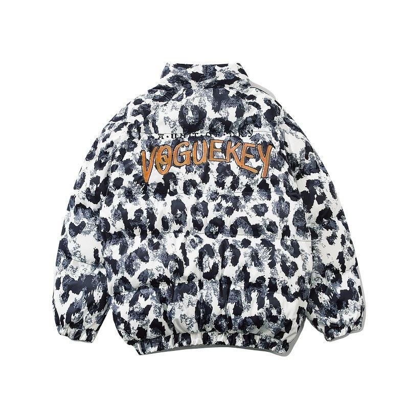 Зимняя куртка для мужчин и женщин, одежда для пар, хлопковая одежда с капюшоном, свободная брендовая плотная одежда ins tide