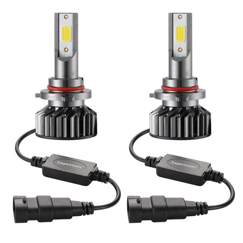 Car Headlight Bulb,6000K White 15000 LM LED Headlight Bulb,Dob Chips Fog Light Assemblies Emc Anti-Jamming Hid Bulbs Lamp Waterp