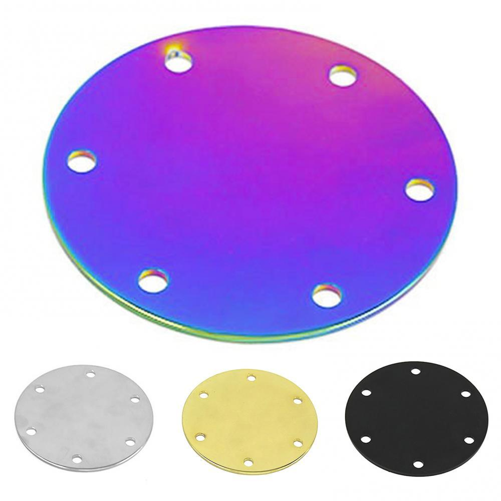 80% Dropshipping!!Universal Outer Ring Steering Wheel Horn Button Delete Plate Plain Block Cover