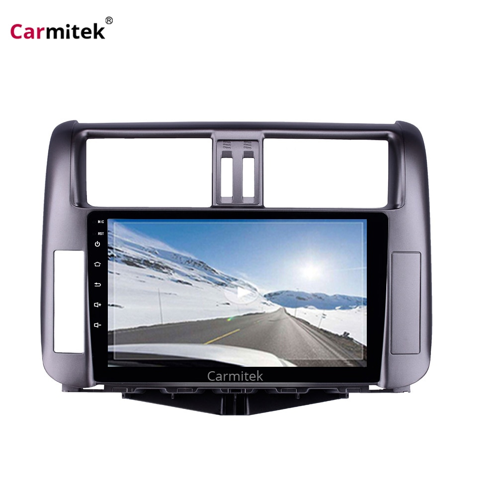 Android головное устройство 2 din для Toyota Land Cruiser Prado 150 2010 2011 2012 2013 мультимедиа плеер радио Авто Стерео gps навигация