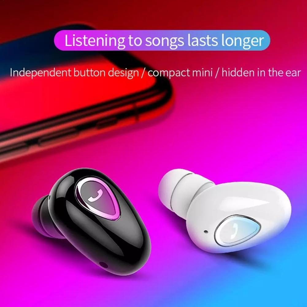 YX01 Mini Wireless Bluetooth 4.1 Stereo Earphone Tws In-ear Sports Headphones Sports Running Earbuds For IOS/Android Phones