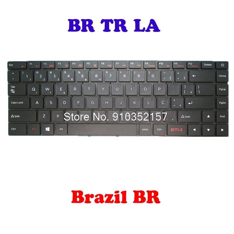 كمبيوتر محمول BR TR LA تخطيط لوحة المفاتيح SCDY-315 البرازيل BR تركيا TR أمريكا اللاتينية لا الإطار