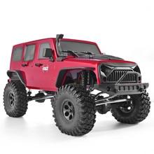Rgt Rc Crawler 110 Schaal 4wd Rc Rock Cruiser EX86100 313Mm Wielbasis Crawler Off Road Monster Truck Rtr 4X4 Waterdicht Rc Auto