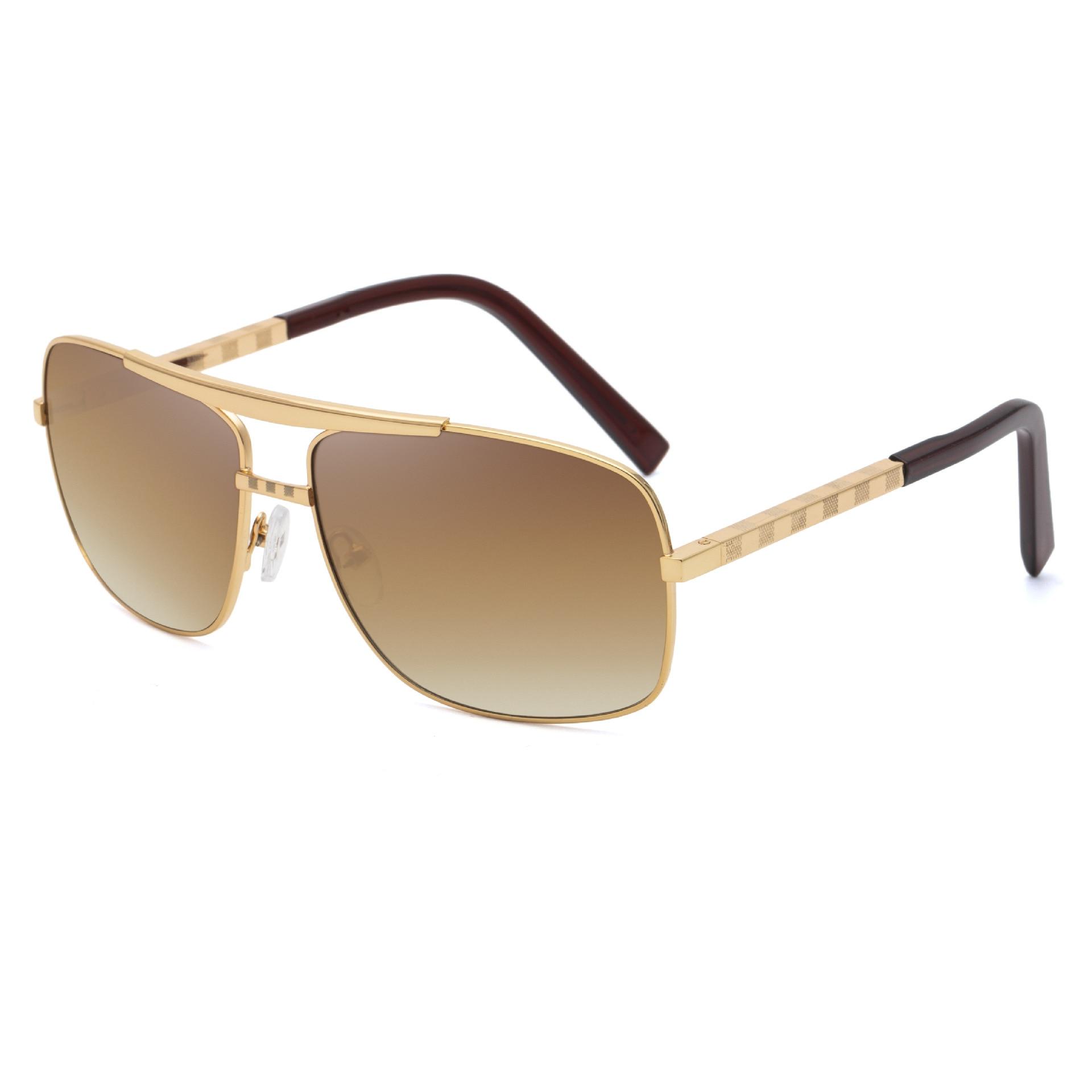 2019 New Sunglasses Men's 0256attitude Retro Box Catapult Sunglasses Wholesale Sunglasses  Sunglasses  Glasses