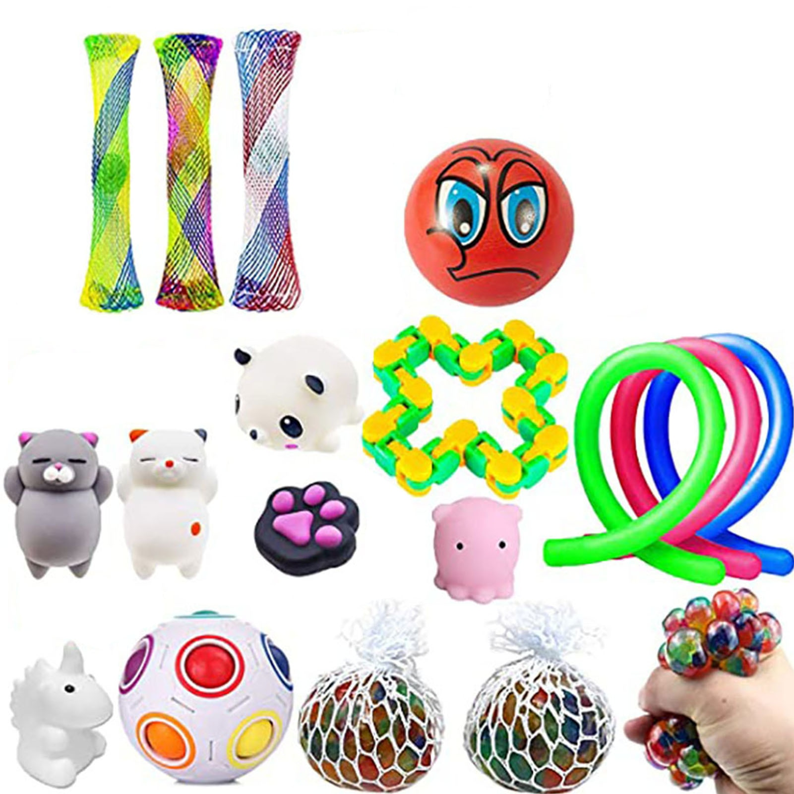 Fidget Toys Pack Sensory Fidget Toy Set Stress Relief Squeeze Toys For Kids Adults Stretch And Squeeze Toys At Will Anti-stress enlarge