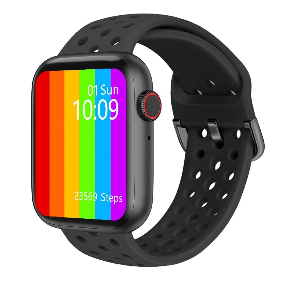 Iwo w26 relógio inteligente serises 6 40/44mm 1.75 polegada freqüência cardíaca iwo 12 pro smartwatch w26 relógios inteligentes para mulher/homem para android