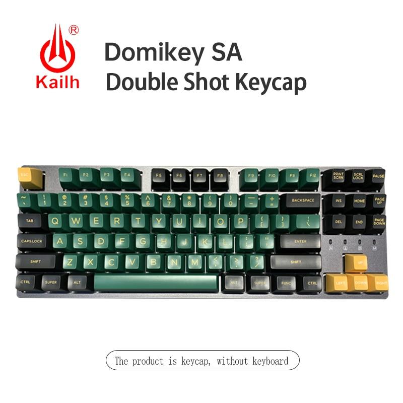 Kailh & Domikey уплотнения SA профиль DOLCH двойной выстрел ABS keycaps для MX Переключатель игровая механическая клавиатура набор 158 keycaps