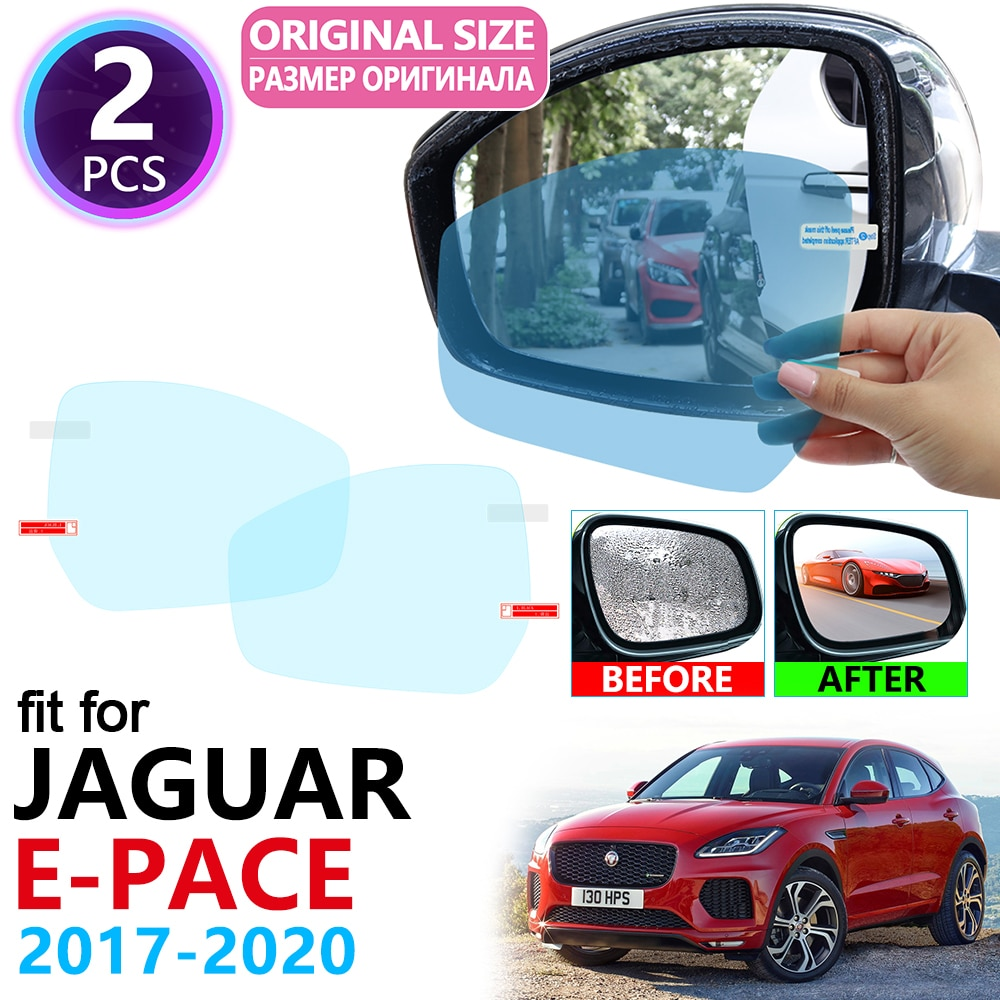Para Jaguar E-PACE 2017 2018 2019 2020 EPACE E PACE cubierta completa espejo retrovisor películas antiniebla a prueba de lluvia película Anti niebla Accesorios