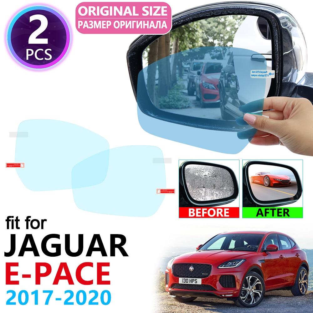 for Jaguar E-PACE 2017 2018 2019 2020 EPACE E PACE Full Cover Rearview Mirror Anti-Fog Films Rainproof Anti Fog Film Accessories