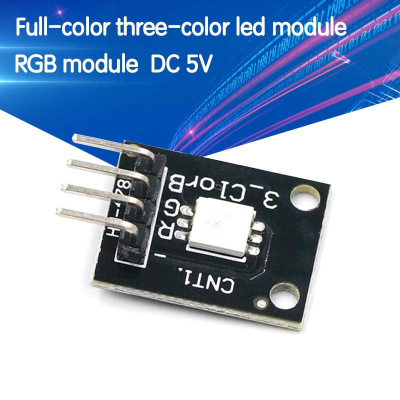 KY-009 5050 PWM Modulator RGB SMD LED Module 3 Color Light For Arduino MCU Raspberry CF Board Three Primary Color
