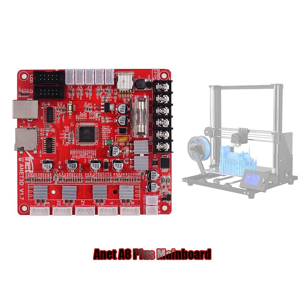 Anet A1284-Base V1.7 قاعدة وحة التحكم اللوحة الأم اللوحة الأم ل Anet A8 زائد DIY الذاتي الجمعية 3D سطح المكتب طابعة RepRap i3