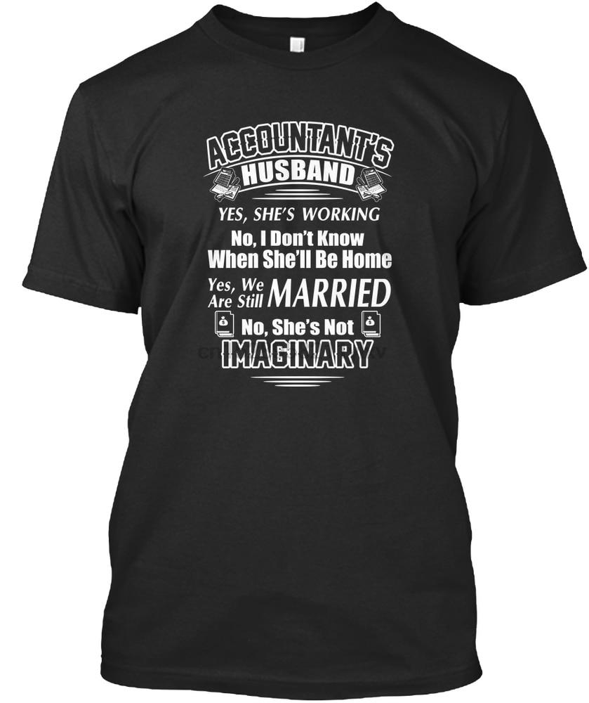 Camiseta de hombre mi esposa contadora no es Camisetas imaginarias camiseta de mujer