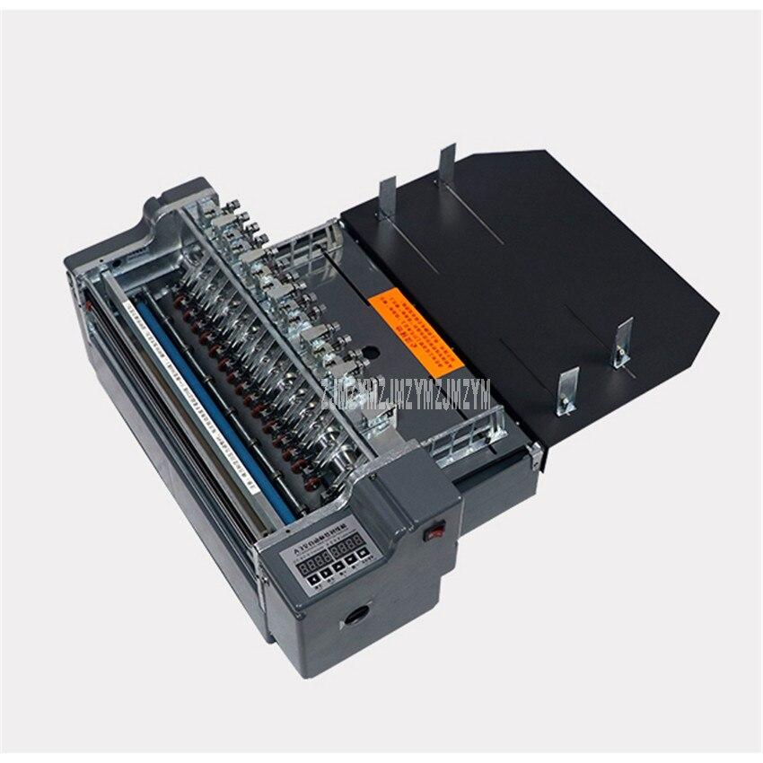 آلة قطع الملصقات ذاتية اللصق بحجم A3 و A4 ، قاطع الملصقات الأوتوماتيكي بالكامل ، آلة القطع عالية السرعة ، 220 فولت