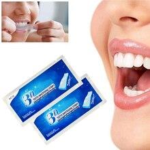 1Pc Daily Life Teeth Whiten Mint Flavored Teeth Whitening Strips Gel Oral Care Dental Bleaching Teeth Whitening Strip TSLM1