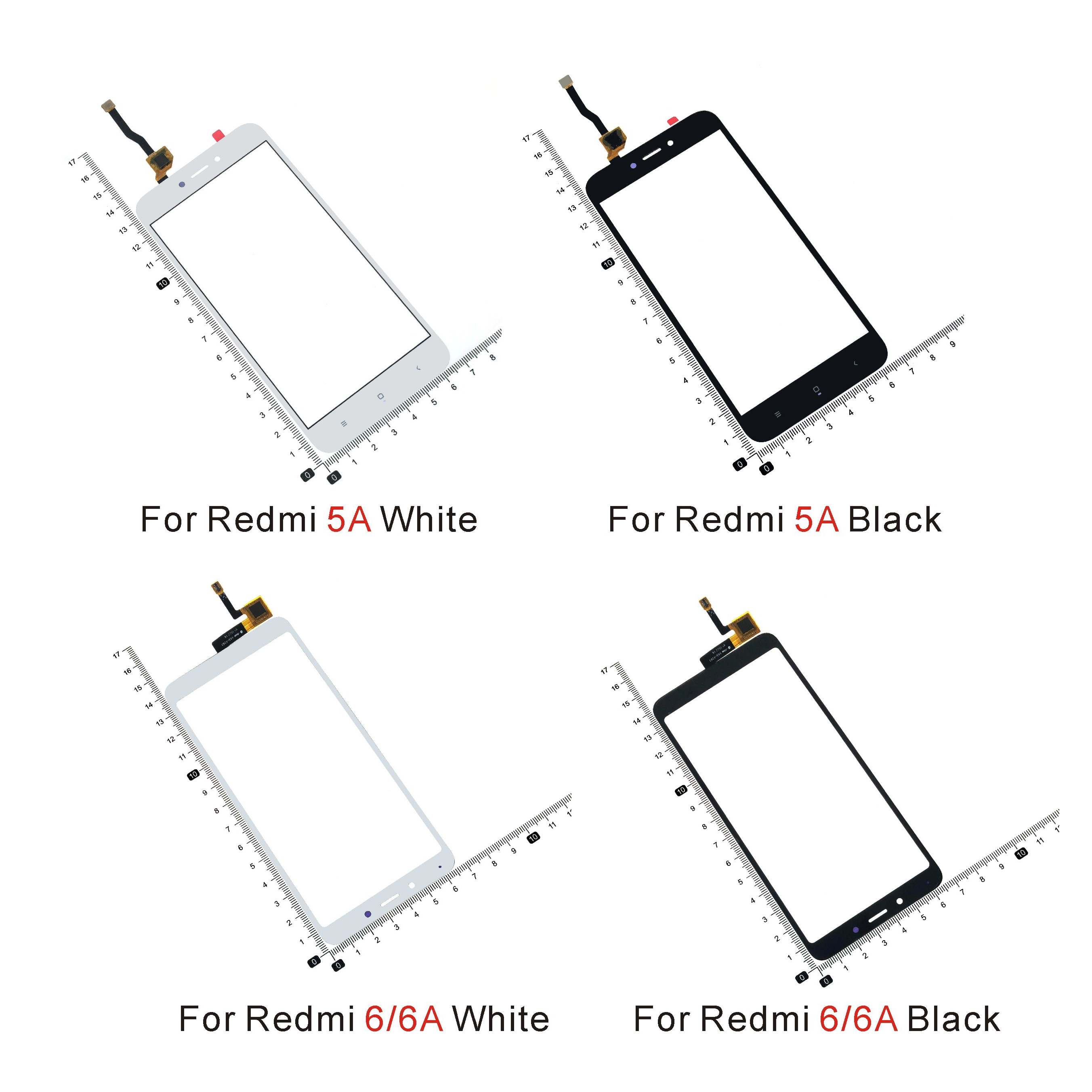 touch panel screen for pro face 2980070 04 gp2301 lg41 24v Touch screen For Xiaomi Redmi 5A 6 6A 6 Pro 7 7A Touch Screen Digitizer Sensor Glass Panel Replacement
