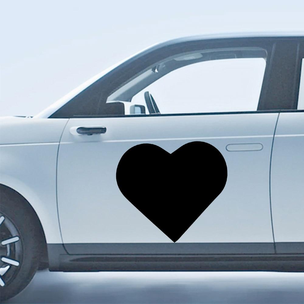 Автомобильные двери любовь автомобильные знаки модные Мультяшные автомобильные наклейки оконные украшения индивидуальные виниловые накл...
