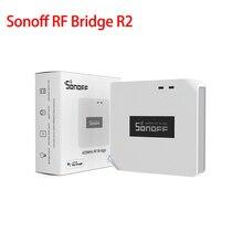 Sonoff-mando a distancia RF Bridge R2 433 a WiFi, Control remoto inalámbrico para casa inteligente a través de la aplicación Ewelink, funciona con Alexa y Google Home