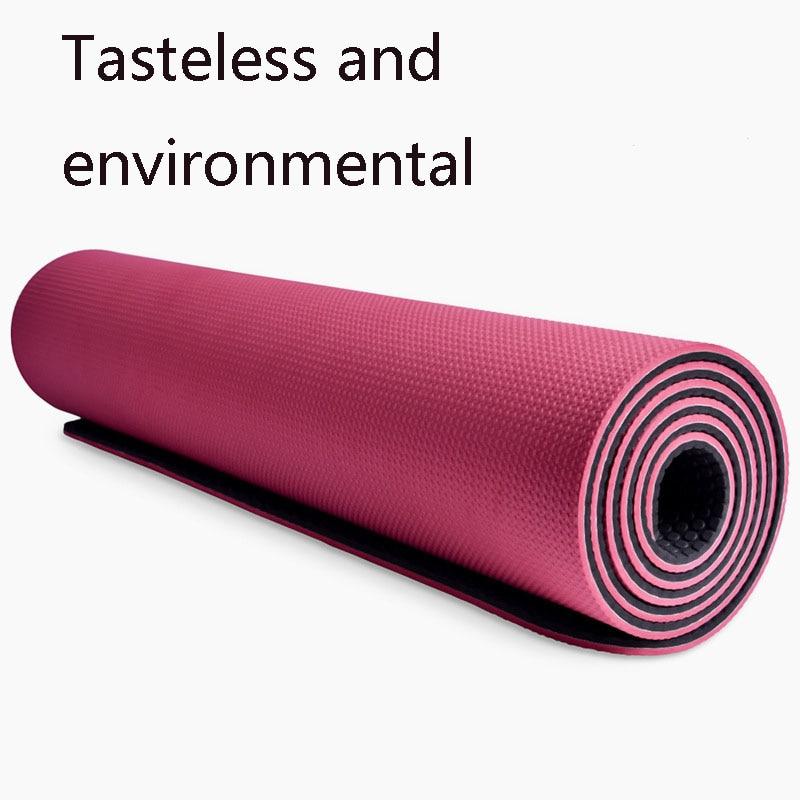 Esterilla de Yoga SBS con bolsa gratis Esterilla de Yoga Antidesliz, rodillera para meditación Pranamat, Esterilla deportiva Ginastica