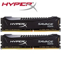 Kingston HyperX Savage Memory RAM DDR4 4GB 8GB 2133MHz 2400MHz 2600MHz 2800MHz 3000MHz 4gb 8gb 1.5v pc3-12800 DIMM For desktop