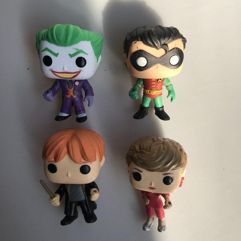 1 шт. оригинальный Funko поп меньшего размера секонд хэнд Джокер, Робин, Гарри-Рон Виниловая фигурка Коллекционная модель свободная игрушка без коробки