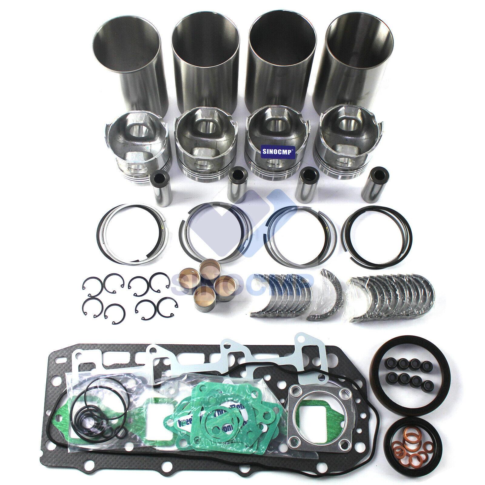 4TNV106 4TNV106t 4TNV106T-XTB 4tnv106-GGE 4TNV106-NTB motor Kit de reconstrucción para GEHL 7600 SL7600 S4D106D 4TNE106-G1A