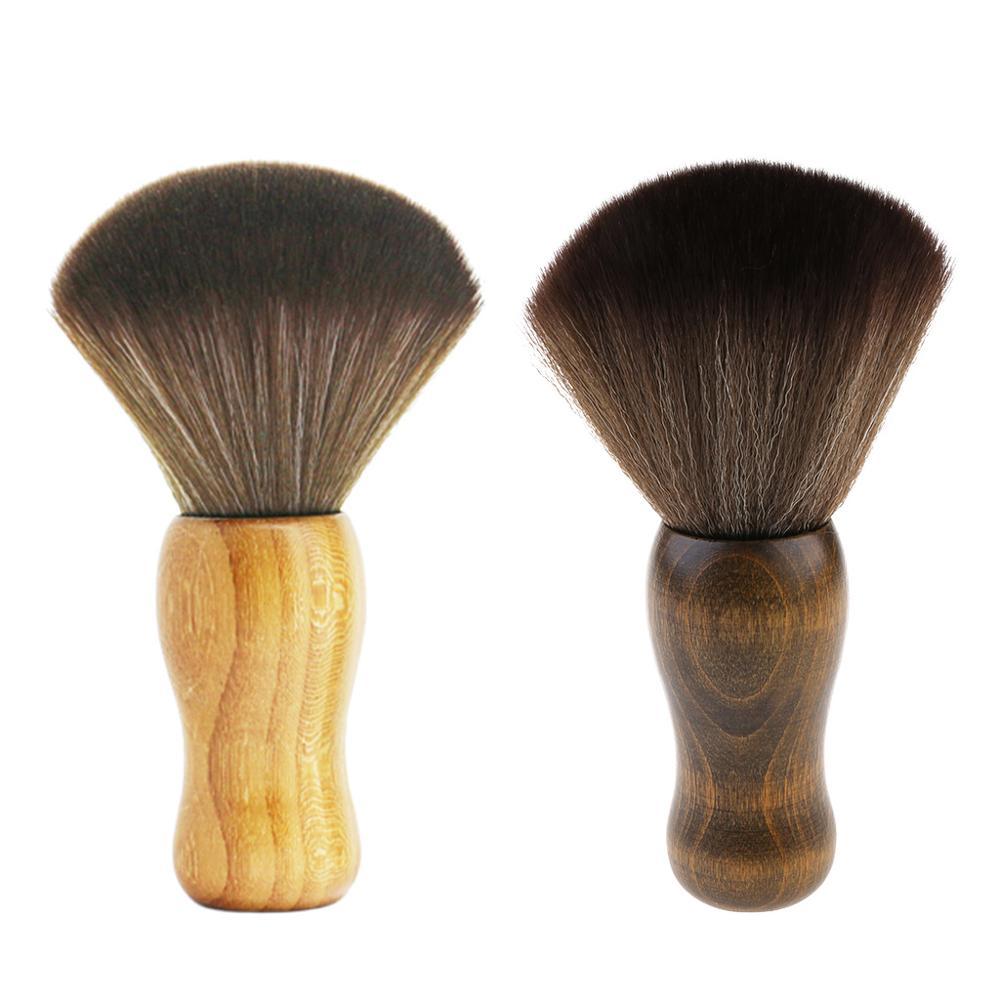 Антистатическая мягкая щетка для очистки волос с деревянной ручкой стилус для удаления пыли для LP виниловая запись проигрыватель аксессуары