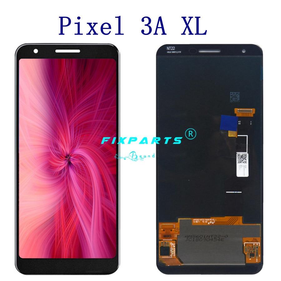 Original Screen for Google Pixel 3 3A LCD Display Touch Digitizer Screen For Google Pixel 3A XL LCD Screen Pixel3 Replacement enlarge