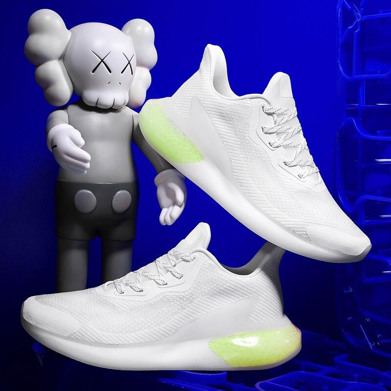أحذية رجالية قابلة للتنفس من Zapatillas De Deporte Para Hombre أحذية رياضية شبكية سهلة الارتداء موضة ملابس رجالية للركض