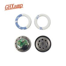 GHXAMP 10mm écouteur haut-parleur unité Hifi 16ohm écouteur bricolage pièces de réparation doux chant bobine mobile gamme complète haut-parleur pour iE80 2 pièces