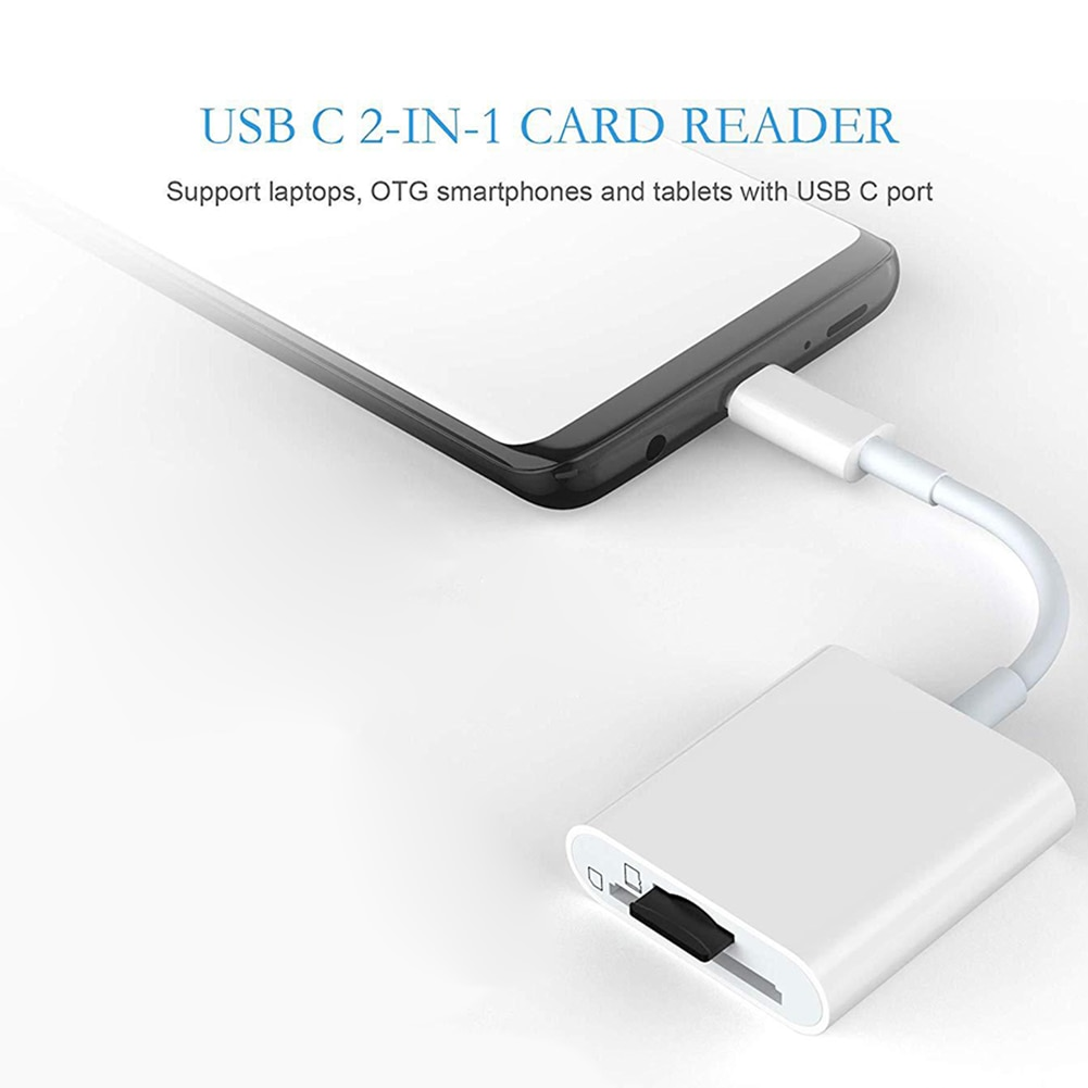 USB Card Reader S D Micro S D TF CF MS Compact Flash Card Adapter for Laptop OTG Type C to Multi Card Reader USB 3.0 enlarge