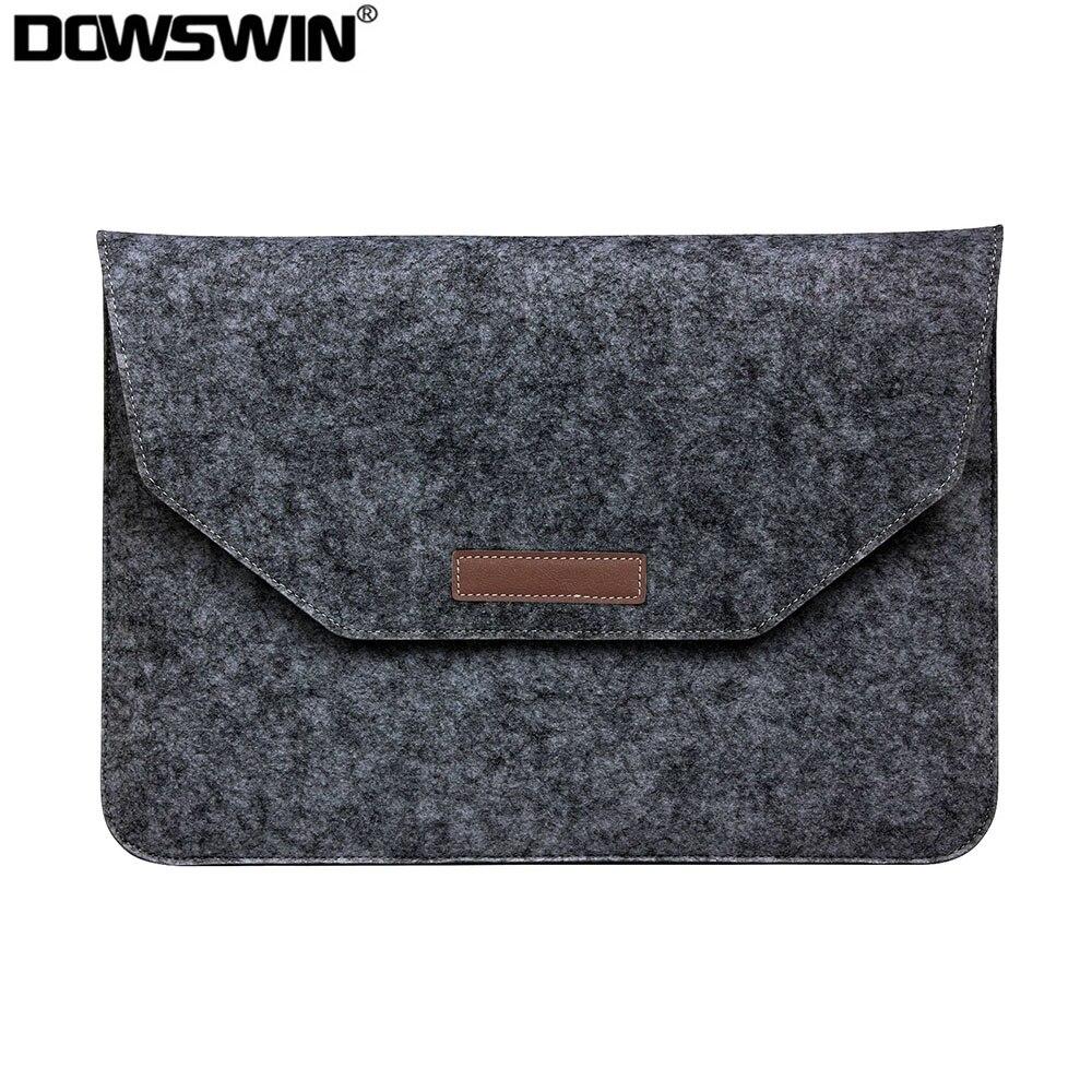 Модная шерстяная фетровая сумка для ноутбука для Apple Macbook Air Pro retina 11 12 13 15 чехол для ноутбука для Mac book 13,3 15,4 дюймов