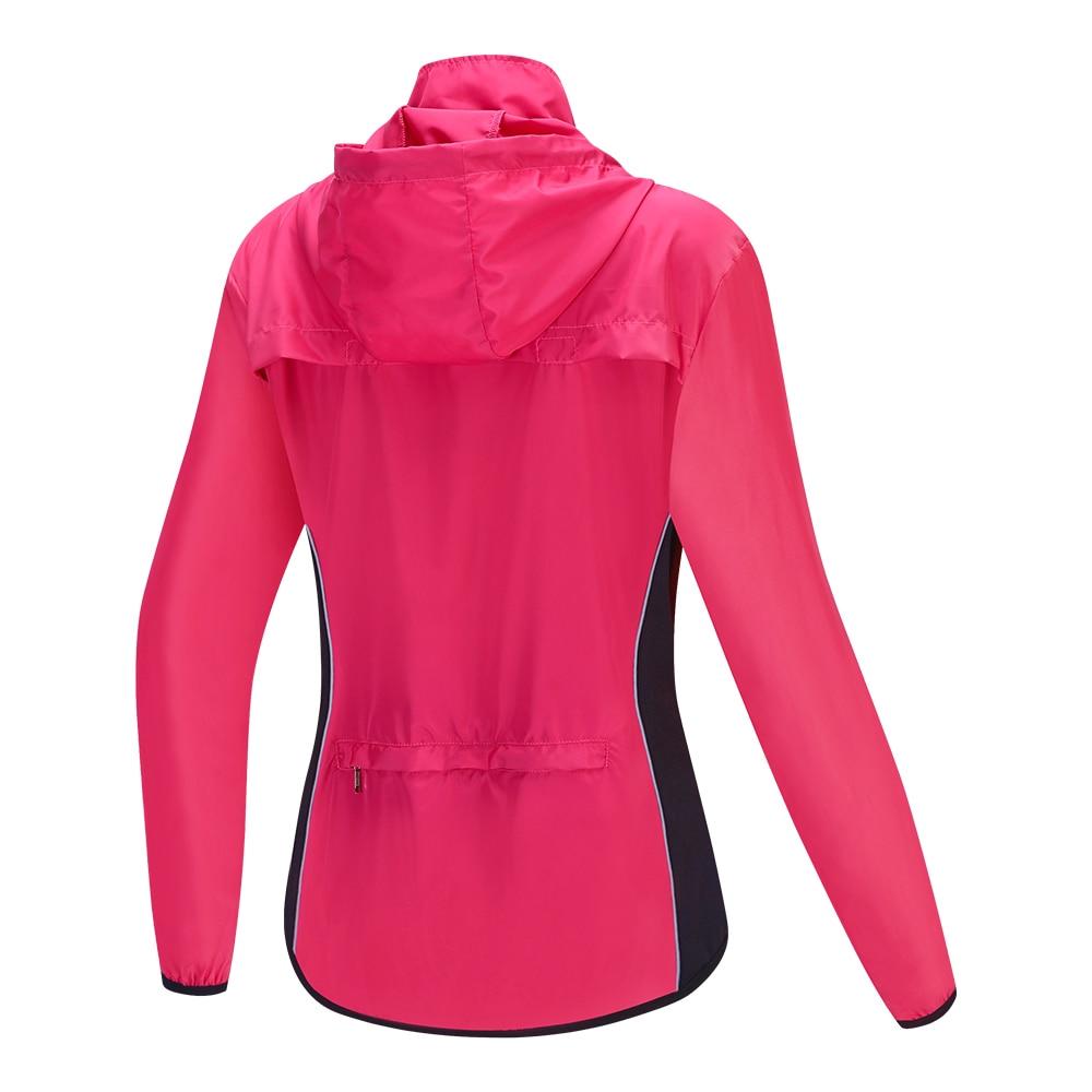 WOSAWE Women's Motorcycle Jacket Hooded Breathable Windbreaker Moto Reflective Jacket Motocross Off-Road Racing Riding Vest enlarge