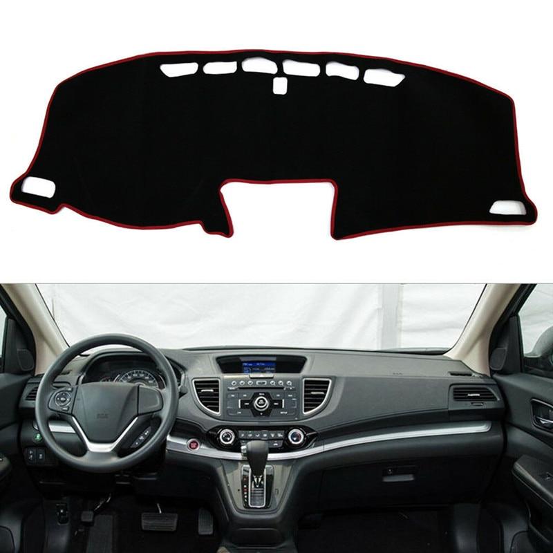 Para Honda CRV CR-V 2012 2013 2014 2015 2016 cubierta del salpicadero del coche alfombrilla de salpicadero alfombrilla de protección para instrumentos de protección de alfombra Accesorios