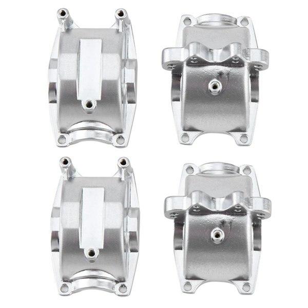 Комплект из 2 предметов, алюминиевая коробка передач для WLtoys 1/18 RC автомобиля A959 A959B A969 A969-B A979 K929