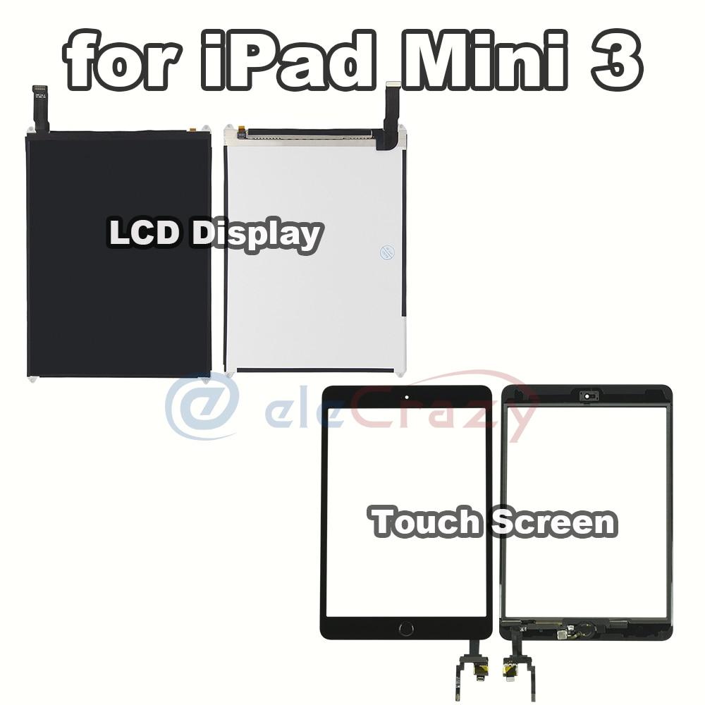 AAA + الصف لباد mini 3 Mini3 LCD عرض و شاشة تعمل باللمس محول الأرقام لوحة A1599 A1600 الجمعية استبدال 100% اختبارها