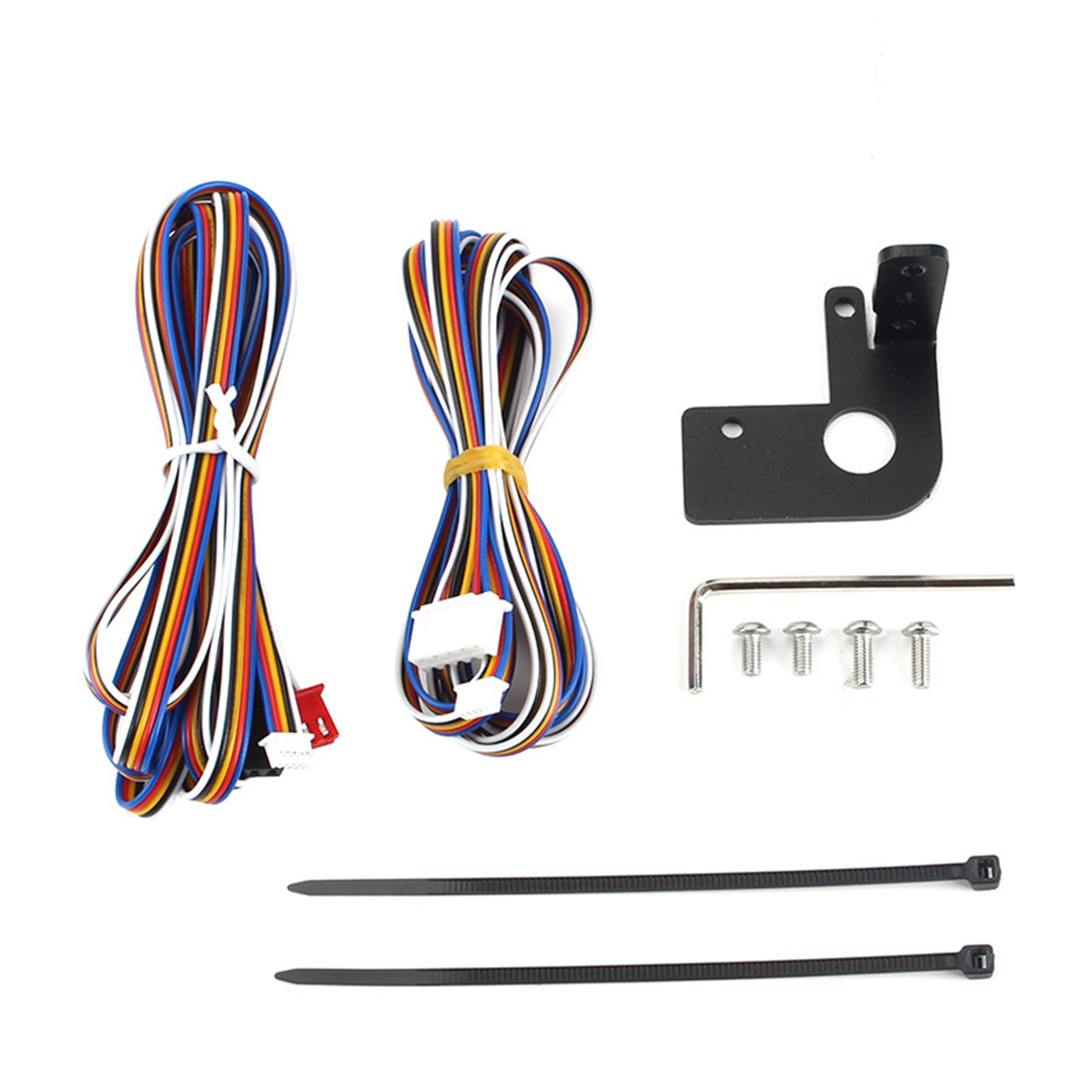 Printer Connection Kit 3D Printer Parts BLTOUCH Extension Cable +Mount For CR 10 Creality3D Printer And Normal Controller Board 4 color indoor piezo photo printer lecai skycolor printhead board for encad novajet 750 760 850 printer carriage board