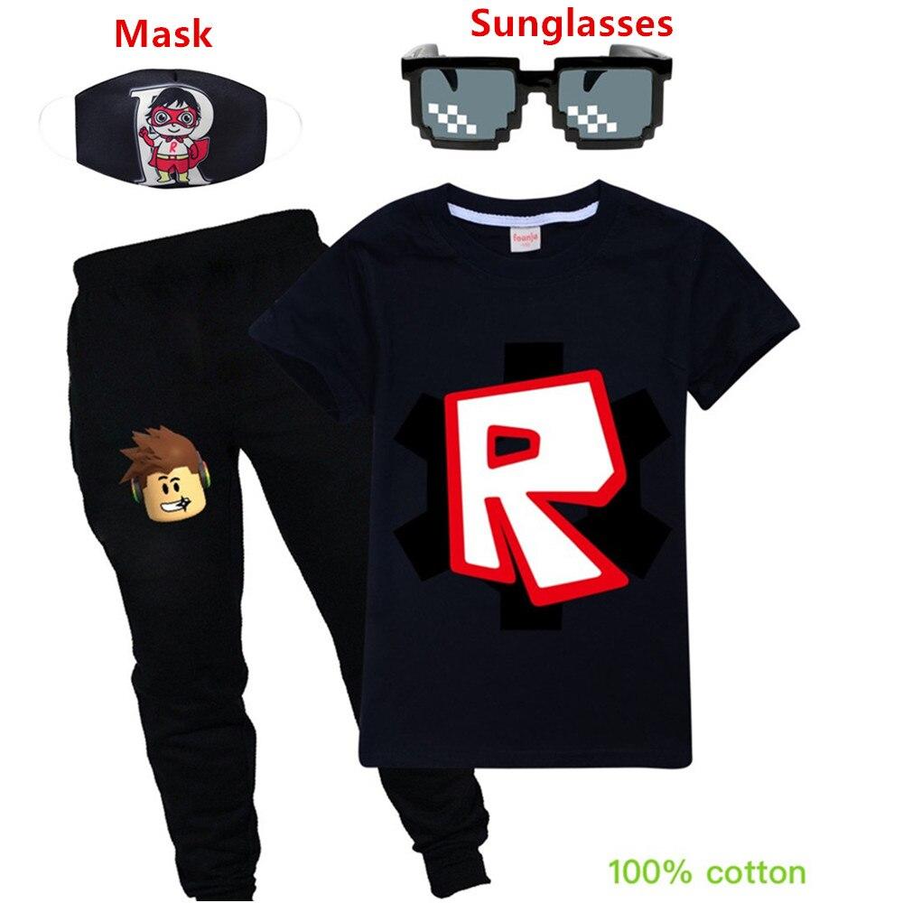 Kinder Sommer Kleidung Set Jungen T shirt + Hosen Casual Sport Anzüge Kinder Kleidung Mädchen mode kollokation Casual Trainingsanzug