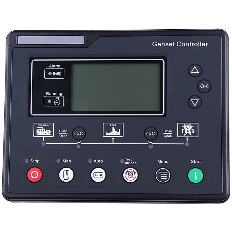 SL6120U AMF مولد مجموعة تحكم LCD التلقائي بدء المولد Ats صندوق التحكم محطة تهمة لوحة المولد جزء 6120